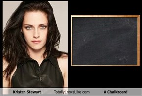 Kristen Stewart Totally Looks Like A Chalkboard