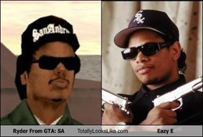 Ryder From GTA:SA Totally Looks Like Eazy E