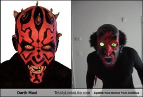 Darth Maul Totally Looks Like Lipstick-Face Demon from Insidious