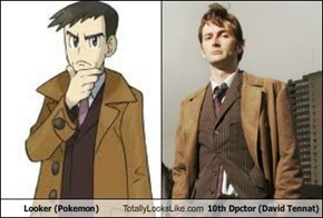 Looker (Pokemon) Totally Looks Like 10th Dpctor (David Tennat)