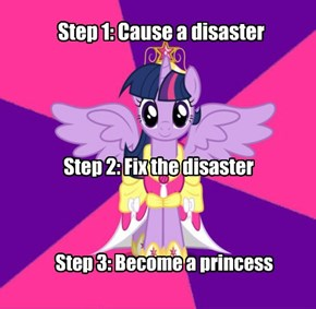 How to become a princess
