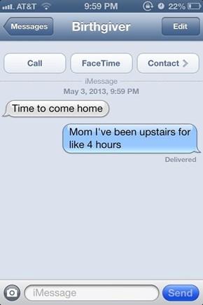 Way to Keep Track, Mom