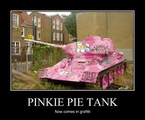 PINKIE PIE TANK