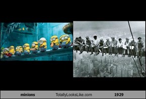 minions Totally Looks Like 1929