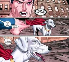 Superman Is Losing His Mind