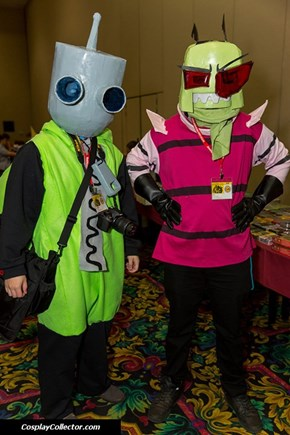 Zim, Do You Have Any Idea How Many Germs are at a Con?!