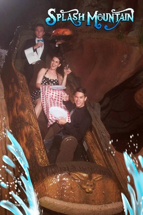 A Classy Ride on Splash Mountain