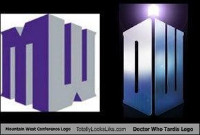 Mountain West Conference Logo Totally Looks Like Doctor Who Tardis Logo