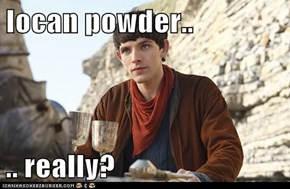 Iocan powder..  .. really?