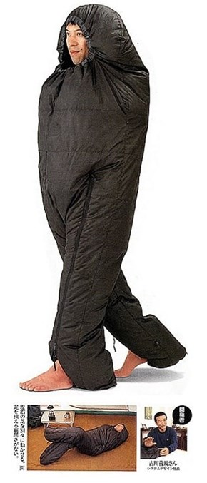 Sleeping Bag Suit!