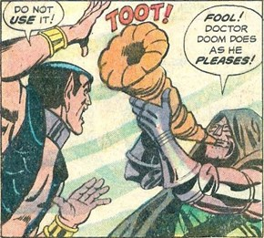 You're Not My Real Mom, Namor!