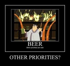 OTHER PRIORITIES?