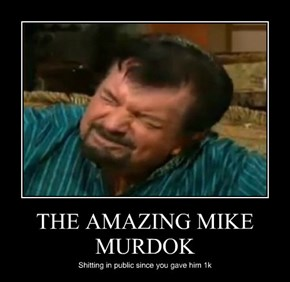 THE AMAZING MIKE MURDOK