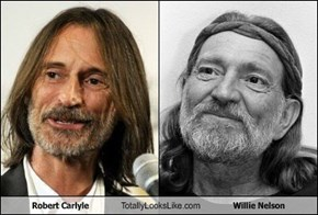 Robert Carlyle Totally Looks Like Willie Nelson
