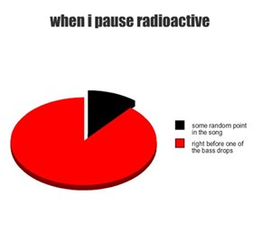 when i pause radioactive