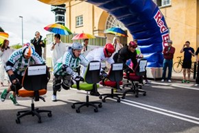 Office Chair Racing Should be the Next Olympic Sport