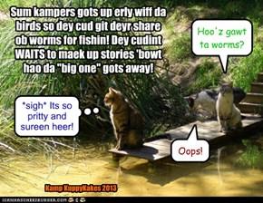 Kamp KuppyKakes 2013 Down on da pond!