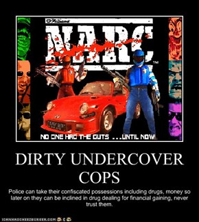 DIRTY UNDERCOVER COPS