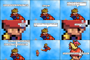 Flying With Pidgeotto