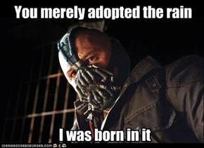 As a Dutchie, this is my reaction to Belgians complaining about rain