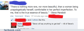 We See Right Through You, Steve