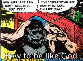 Just Train Some Apes for an Ego Boost
