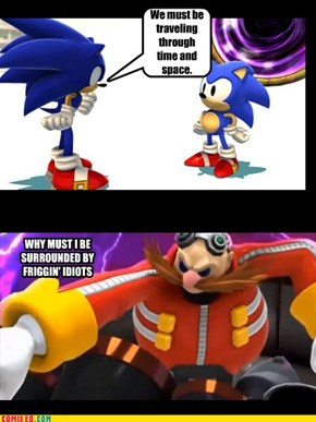 Sonic Generations - What Eggman thought