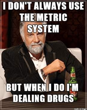 America vs the Metric System