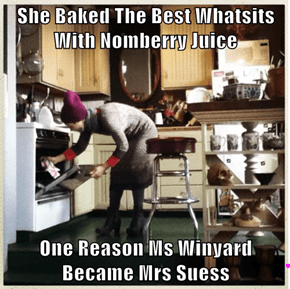 She Baked The Best Whatsits With Nomberry Juice  One Reason Ms Winyard Became Mrs Suess