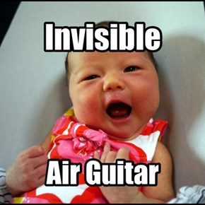 Invisible Air Guitar