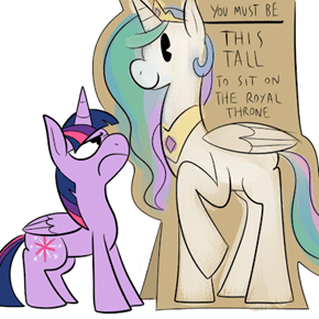 Luna's not Even That Tall!