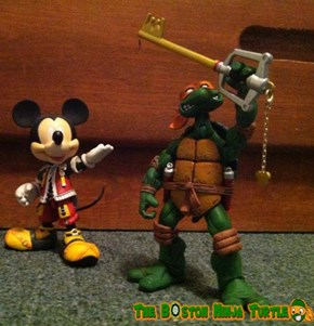 Teenage Mutant Ninja Keyblade Master