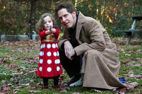 Daddy and Dalek