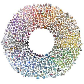 The Pokemon Color Wheel