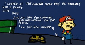 If Mario Was Written By the Guy Who Wrote Max Payne