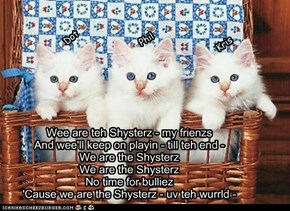The McGata Sisters sing the Shysterz Klub song