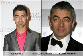 Joe Jonas Totally Looks Like Rowan Atkinson