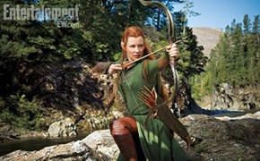 Here's Your First Look at Evangeline Lilly in the Hobbit