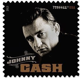 Johnny Cash Stamp Released Today