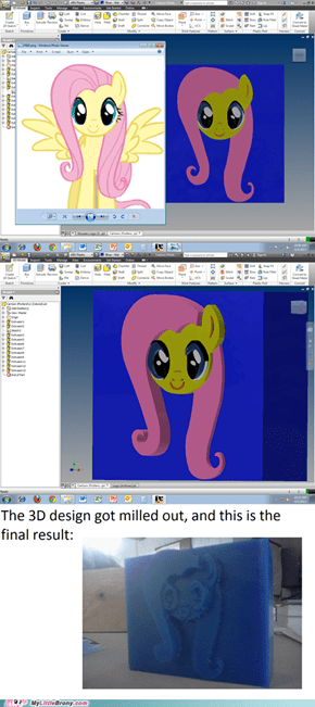 Making a Wax Block of Fluttershy