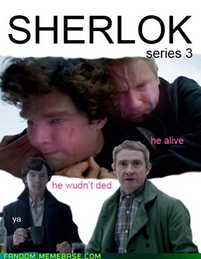 Sherlock Season 3 Poster Revealed