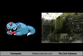 Tentapoke Totally Looks Like The 2nd Colossus