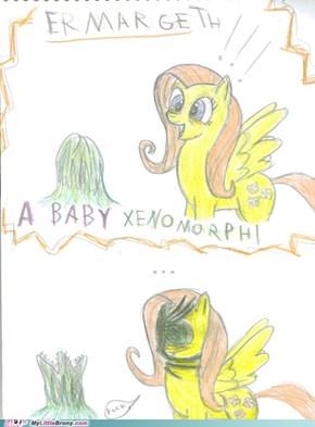 A BABY XENOMORPH!