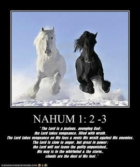 NAHUM 1: 2 -3