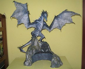 Skyrim Papercraft WIN