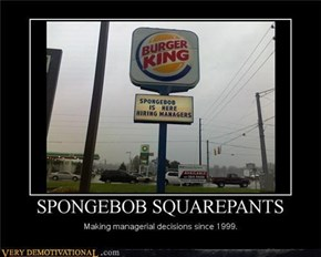 Why Is Spongebob Doing That?