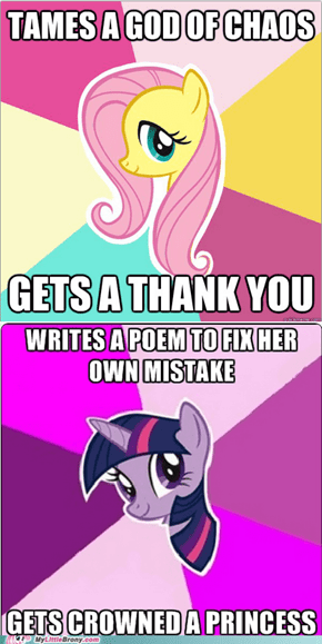 fluttershy is so useless