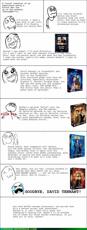 My journey into Doctor Who.
