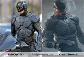 RoboCop 2013 Totally Looks Like Crysis 2 Nanosuit