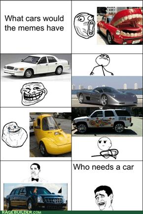Meme cars.